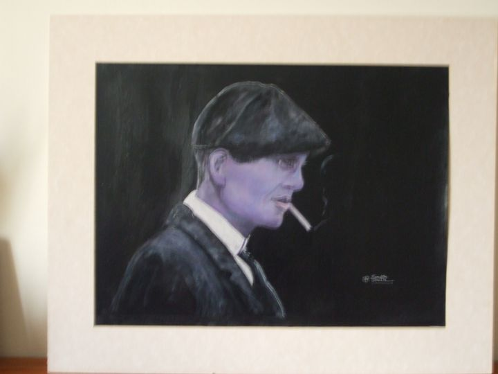 Peaky Blinders Thomas Shelby smoking - Doreen Mary Smith