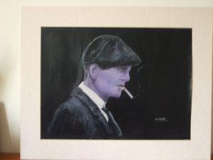 Peaky Blinders Thomas Shelby smoking