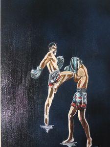 Thailand Kickboxing Match