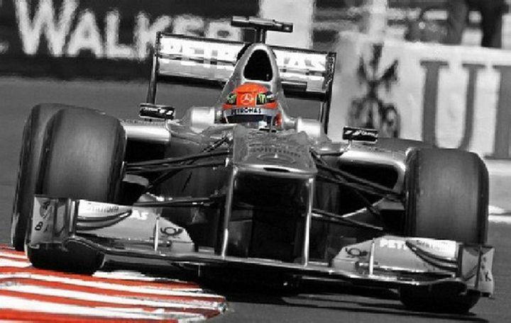 Michael Schumacher 'Legend' - RJG Sketchbook