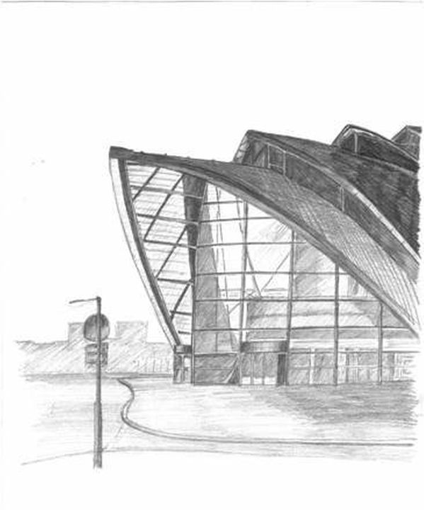 SECC Armadillo Glasgow - RJG Sketchbook