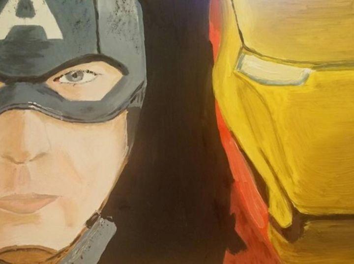 Captain America Civil War - RJG Sketchbook
