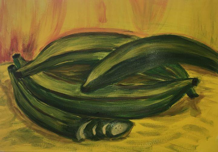 Plantains - Juan Casanova
