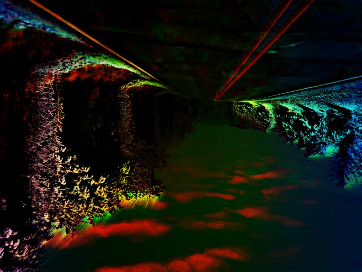 digital art - Basement Art by Mark
