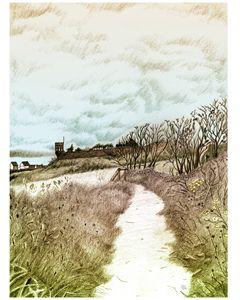Crail, Scotland: Pencil sketch - grantwilson