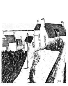 """""""Hie Gait"""" Dysart, Scotland"""