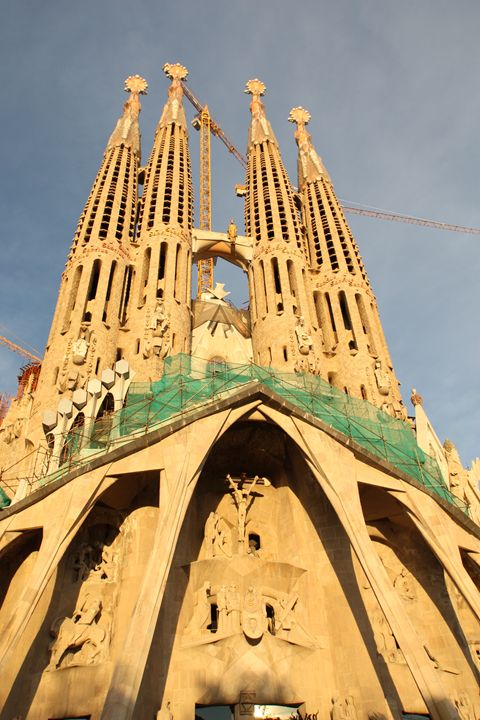 Sagrada Família, Barcelona - Visions of the World