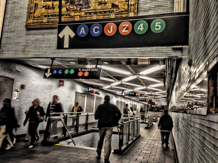 HDR - Fulton St. Subway - Visions of the World