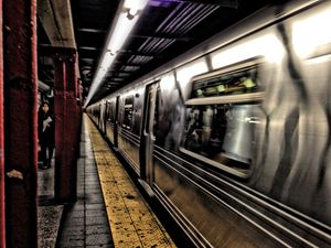 HDR - NYC Subway