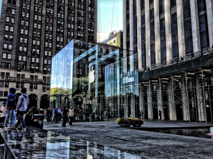 HDR - 5th Ave & 59th St. - Visions of the World