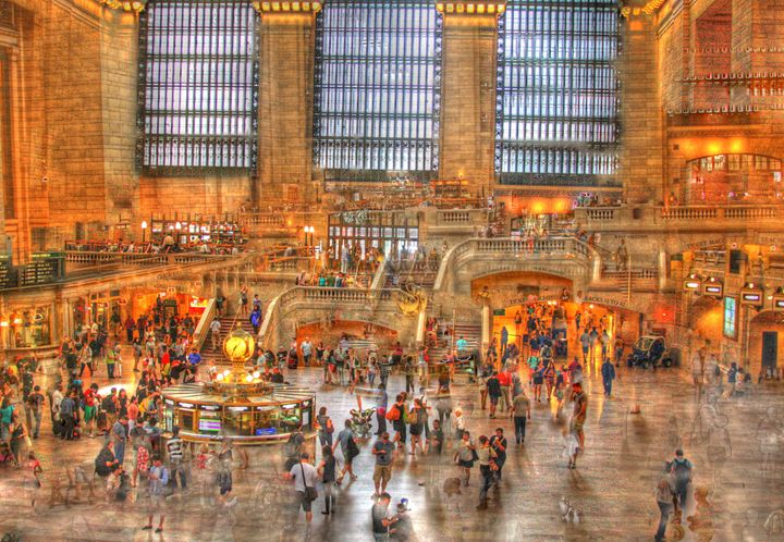 HDR, Grand Central Terminal, NYC - Visions of the World