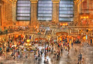 HDR, Grand Central Terminal, NYC