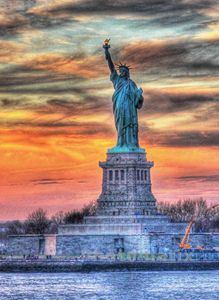 HDR - Statue of Liberty