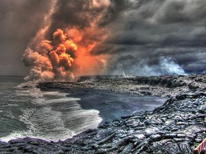 Big Island Volcano Hawaii