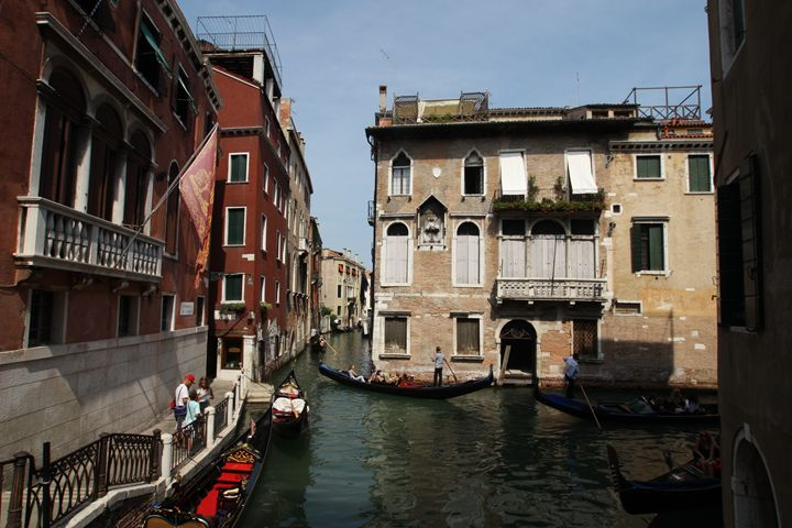 Living on Water, Venice, Italy - Visions of the World