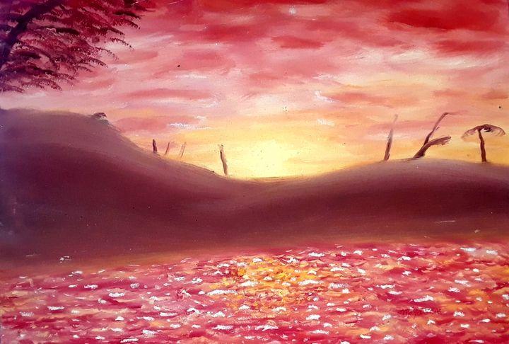 Fall Sunset - MoyaPosas