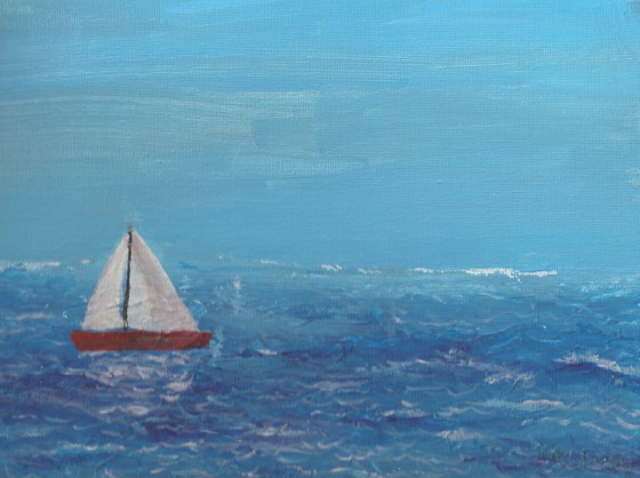 Sailing in the afternoon - MoyaPosas