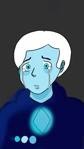 Male Blue diamond