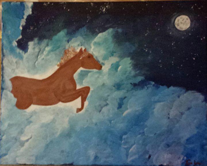 cheryls horse - blackbeltgaz
