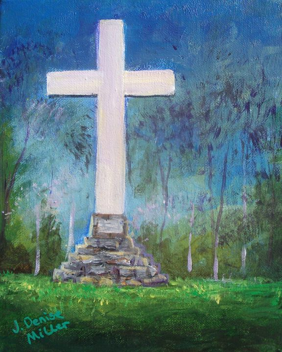 Near the Cross - J. Denise Miller Fine Art