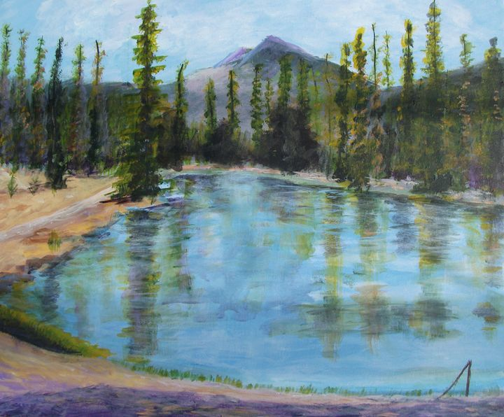 Mountain Majesty - J. Denise Miller Fine Art