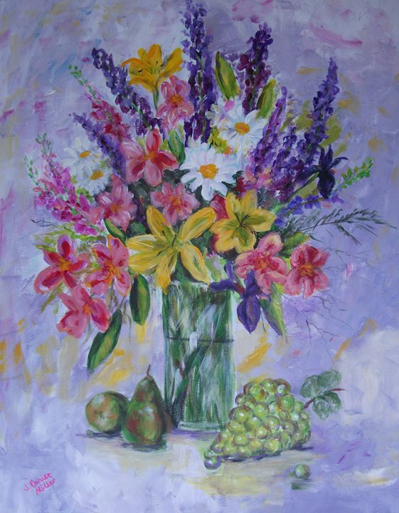 Flowers for Mom - J. Denise Miller Fine Art
