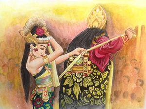 rahvana shinta (Balinese dance)