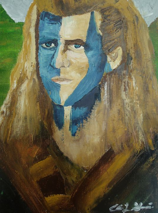 Mal Gibson As William Wallace - Edna Garcia