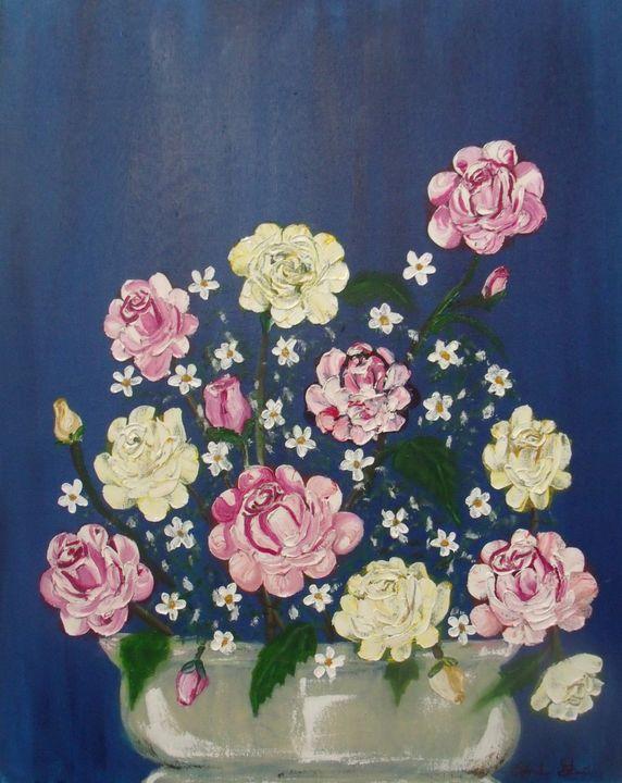 Rosas En El Jardin - Edna Garcia