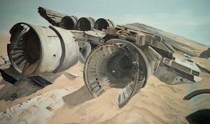 Star Wars VII Crash Site