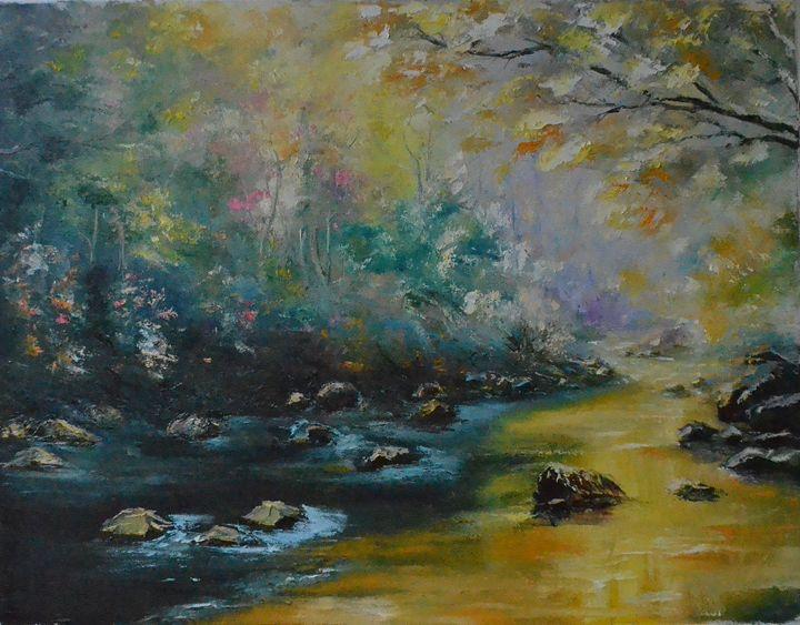 ON THE RIVER - Natalia Esanu   NEsanu