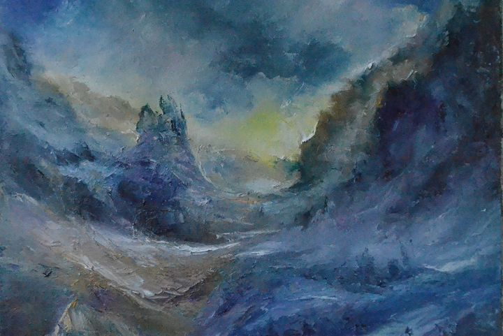 fantastic landscape - Natalia Esanu   NEsanu