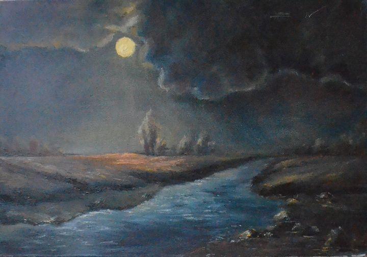 landscape 17 - Natalia Esanu   NEsanu