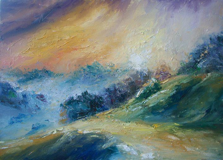 landscape 14 - Natalia Esanu   NEsanu