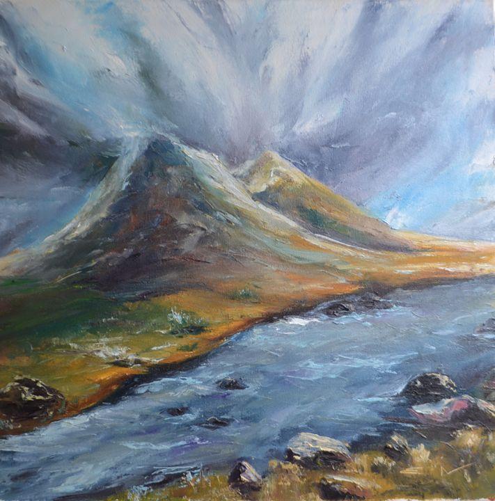 mountain landscape - Natalia Esanu   NEsanu