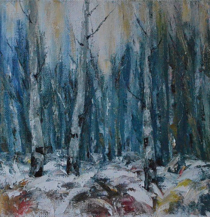abstract  forest - Natalia Esanu   NEsanu