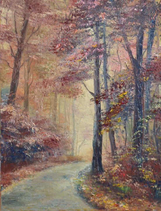 Forest landscape - Natalia Esanu   NEsanu