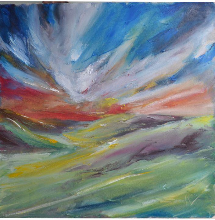 landscape 18 - Natalia Esanu   NEsanu
