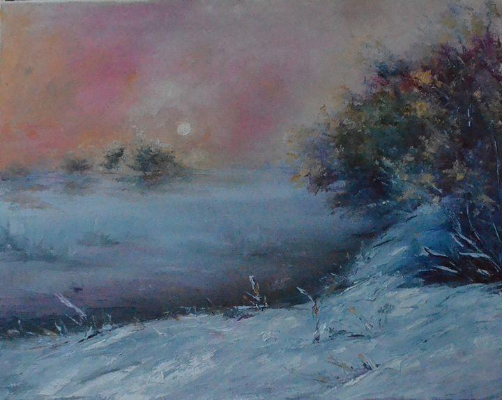 winter landscape - Natalia Esanu   NEsanu