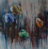 alla primma, paining, oil on canvas