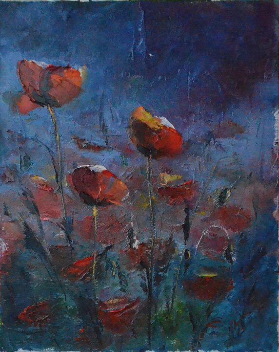 poppies - Natalia Esanu   NEsanu