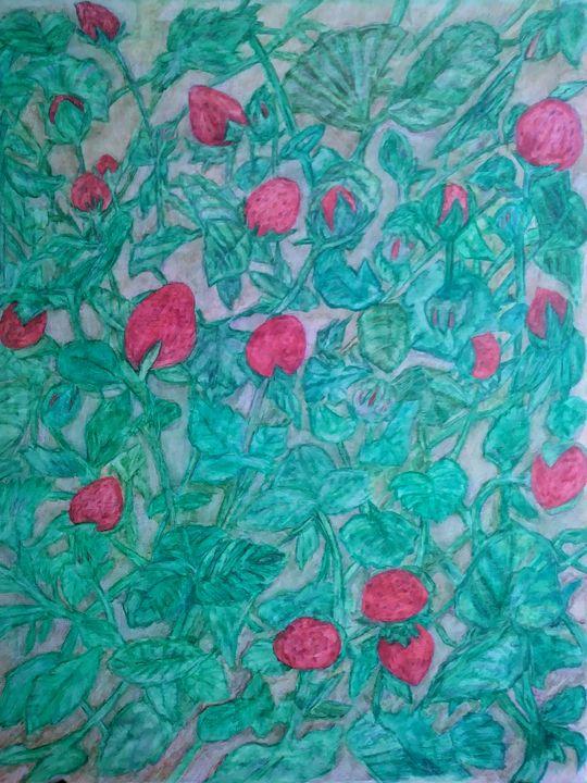 Wild Strawberries - E.M. Zerbe