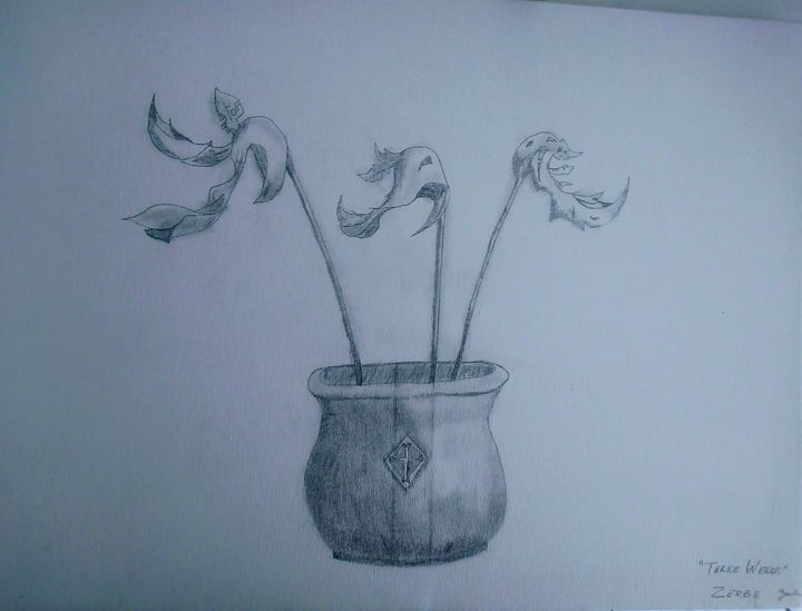 Three Weeds - E.M. Zerbe
