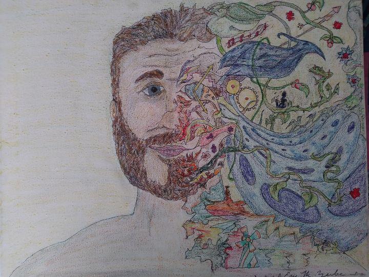 Self Portrait in Color - E.M. Zerbe