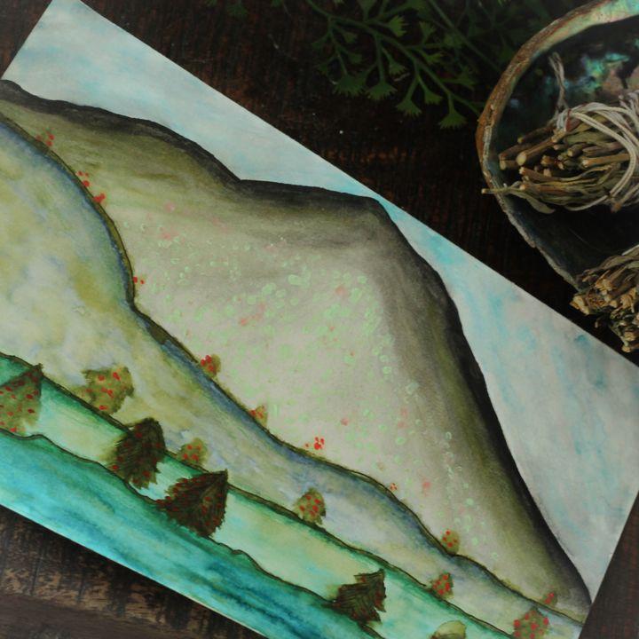 Hilly Landscape - Meddler's Spy Glass