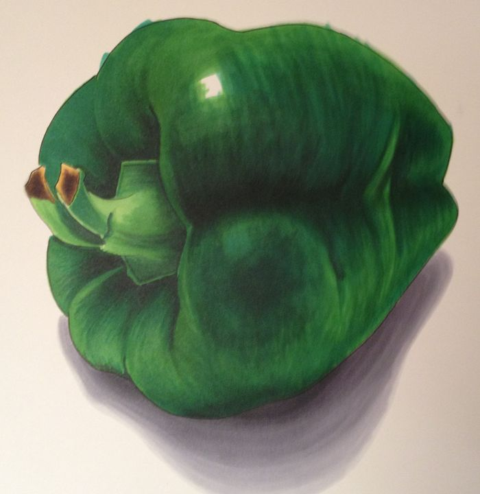 Green Pepper - Chris Jenkins Illustrations