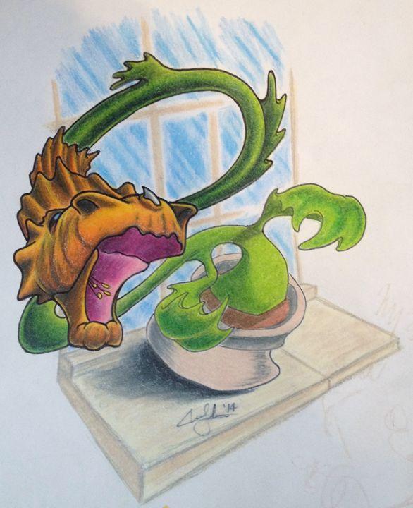 The Dragon - Chris Jenkins Illustrations