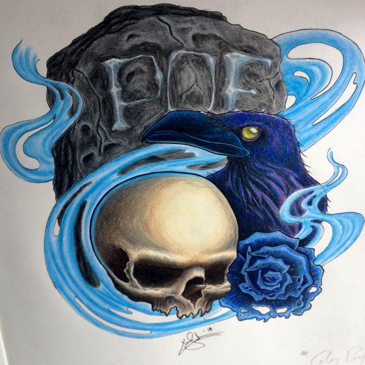 Poe - Chris Jenkins Illustrations