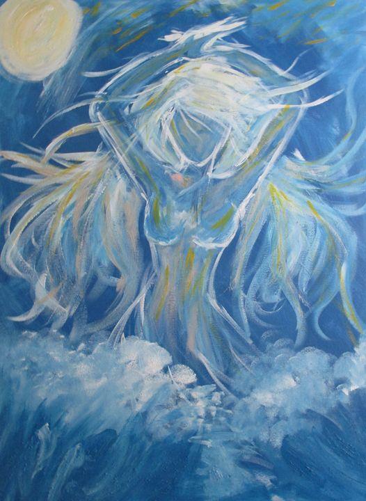 Water Goddess - AmandaZ Art