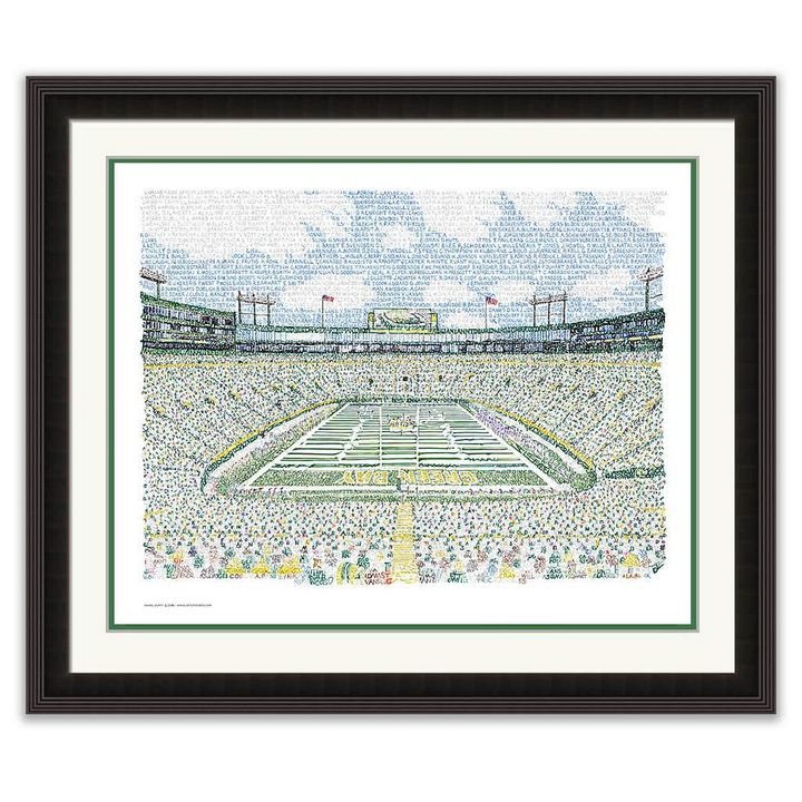 LAMBEAU FIELD - PACKERS ALL TIME ROS - Art World